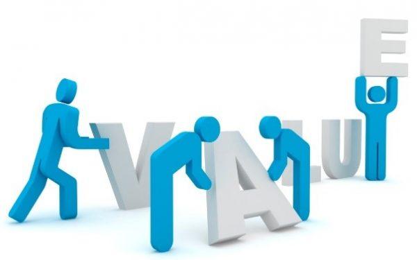 مشخص کردن ارزش ها