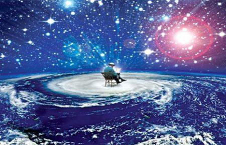 به کائنات دستور دهید